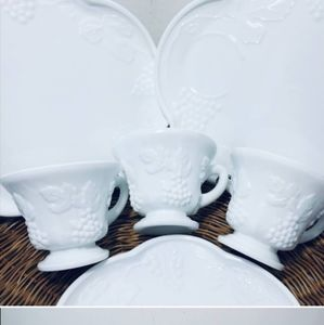 Other - Rare, Vintage, Snack Plates SET. from the 1960s, g